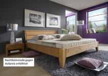 Bett Systembett Doppelbett Kiefer massiv gelaugt geölt vielseitig Überlänge