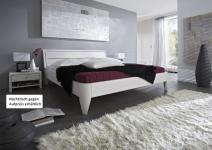 Bett Ehebett Kiefer massiv weiß lackiert Überlänge möglich Varianten vielfalt