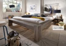 Bett Ehebett massiv Eiche Balkeneiche räucher öl rustikal Überlänge möglich