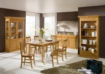 Esszimmer Set Kompletteinrichtung Fichte massiv Landhaus Provence vintage antik