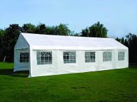 Partyzelt Gartenpavillon Bierzelt Festzelt Garten Überdachung Sonnenschutz 4x10m
