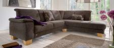 Polsterecke System Couch Polstersofa Eckcouch Ecksofa braun made in Germany