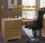 Schreibtisch Schubladen Bürotisch Notebook - Tisch Büromöbel Kiefer massiv