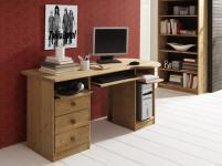 Schreibtisch Computertisch Bürotisch Arbeitszimmer Büro Kiefer massiv