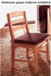 Stuhl 2er Set Stühle Holzstuhl Sitz Kleinmöbel Esszimmer Kiefer massiv