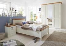 Schlafzimmer Gästezimmer Jugendzimmer komplett Landhausstil 3-tlg Kiefer massiv