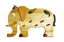 Kindergarderobe Garderobe Kleiderhaken Elefant Garderobenhaken Wandhaken Buche