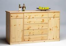 Sideboard Kommode Wäscheschrank Anrichte Schubladen Kiefer massiv Massivholz