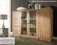 Sideboard Regalkombi Highboard System Kernbuche Wildeiche White Wash massiv