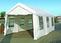 Partyzelt Gartenpavillon Bierzelt Festzelt Garten Überdachung Sonnenschutz 3x6m