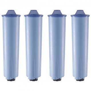 4 steckbare blaue Kartuschen passend für Jura® Kaffeemaschinen mit ENA Claris blue Patrone