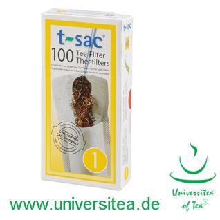 t-sac® Teefilter Größe 1 - Vorschau