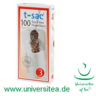t-sac® Teefilter Größe 3