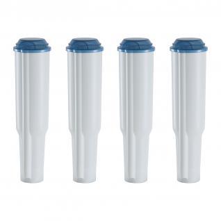 4 Wasserfilter JU Filterpatronen (steckbar), passend für Jura® Kaffeeautomaten bis 2009 außer Ena/Claris Blue