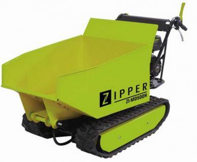 Zipper Miniraupendumper ZI-MD500H, Motorschubkarre, Dumper, Mini Dumper