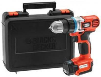Black + Decker Akku-Bohrschrauber EGBL108K - Vorschau