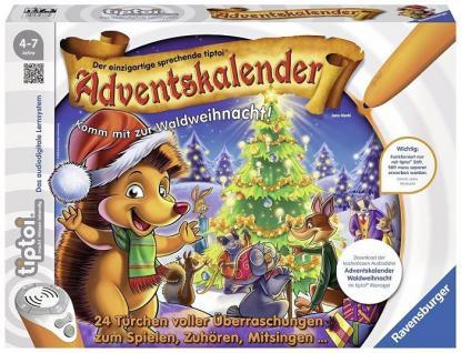 Ravensburger tiptoi Adventskalender Überraschungen zum Spielen, Zuhören, Mitsingen