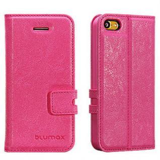 Handytasche für Apple iPhone 5c Pink Etui Case Cover Hülle Smartphonetasche