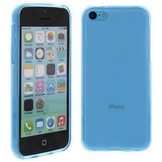 Silikon Case für Apple iPhone 5C Türkis Etui Cover Bumper Tasche