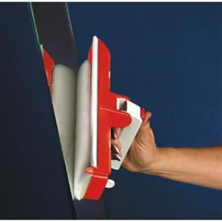 Göttler Spezial Fensterwischer Profi - tropffrei mit Silikon-Doppel-Lippe - Schnelles Arbeiten - Einfache Handhabung - Tropffreies Abziehen - Streifenfreier Glanz - Made in Germany