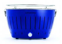 LotusGrill Ultramarinblau NEUE Sonderfarbe Limited-Edition Weltweit 5555 Stk. Der rauchfreie Holzkohle-/Tischgrill in versch. fröhlichen Farben. Neueste Technik mit Turboboostsystem! Garantiert die neuste Technik + robust langlebige Edelstahlkohlebehälter