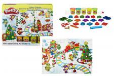 Hasbro B2199EU4 Play-Doh Adventskalender, Knete, Förmchen, Roller, Knetunterlage