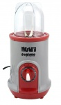 Nutriexpress Granat Smoothie Maker mit !Piranha Messer! Mixer Küchenmaschine Rot