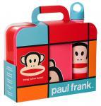 "Paul Frank Lunch-Set "" bring Julius home!"" Pink 1x Lunch Box, 1x Trinkflasche NEU"
