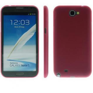 Für Samsung Note 2 / N7100 TPU Case/Cover/Bumper/Hülle/Farbe wählbar