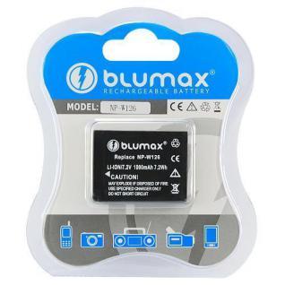 Akku Accu Battery Original Blumax NP-W126 für Fuji FinePix
