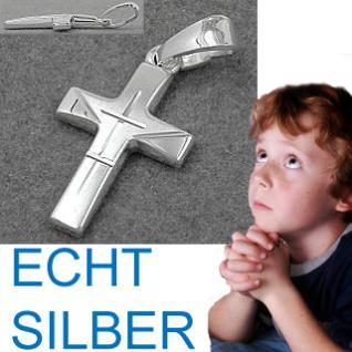 Kinder Silber Kreuz Anhänger