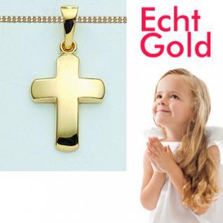 Kreuz Gold 333 Kinder Anhänger