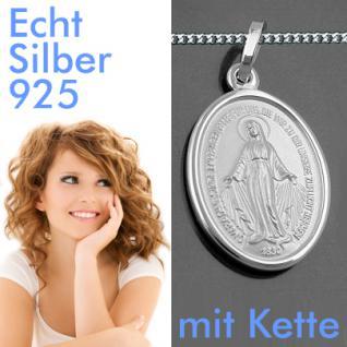 wundertätige Madonna Milagrosa Silber Kette - Vorschau 1