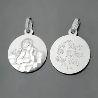Schutzengel Gott schütze Dich mit Kette Silber - Vorschau 2