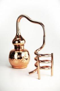 """ CopperGarden®"" Dekodestille Alembik 0, 5L - Kühlspirale"