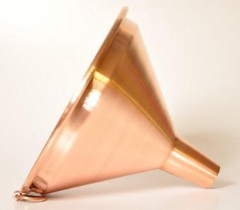 """"""" CopperGarden"""" Kupfertrichter 20cm"""