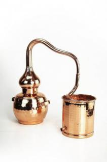 """ CopperGarden®"" Deko Destille Alembik 0, 5L & Kühlkessel"