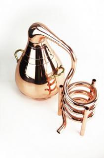 """ CopperGarden®"" Deko - Destille Pelikan, Kupfer 0, 5 L"