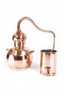 """ CopperGarden®"" Destille Alembik 10L ECO & Thermometer"