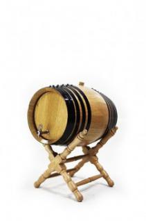 Holzfass (4 L) amerikanische Eiche, getoasted, hell