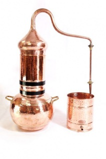""" CopperGarden®"" Kolonnenbrennerei, 30L & Thermometer"