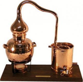 """"""" CopperGarden®"""" Deko Destillieranlage Alembik 0, 5L mit Kühler"""
