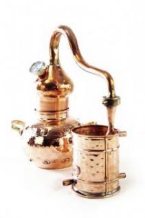 """ CopperGarden®"" Destille Alembik 1L & Thermometer"