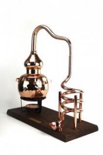 """"""" CopperGarden®"""" Deko Destillieranlage 0, 5L Kühlspirale"""