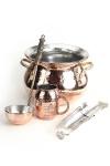 """"""" CopperGarden®"""" SET: Feuerzangenbowle Kupfer (verzinnt)"""