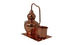 """"""" CopperGarden®"""" Miniaturdestille mit Kühlkessel & Kupferplatte"""