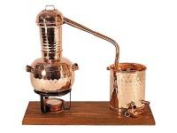 """"""" CopperGarden"""" Destillieranlage Arabia (0, 5 L) mit Teelicht"""