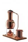 """"""" CopperGarden®"""" Tischdestille Arabia 2 Liter mit Spiritusbrenner & Aromasieb"""