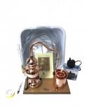 CopperGarden® Destillieranlage Alembik 0, 5 Liter Spiritus - Set mit Pumpe