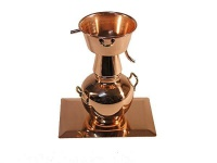 Miniatur: Alquitara Destille mit Kupferständer